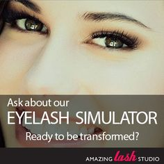 67eb9f367c1 Curious about how you'd look with longer lashes? Try the Amazing Lash Studio