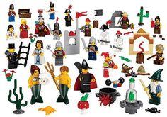Lego Fantasy Figures Kit $90