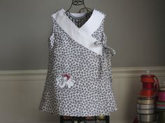 Alabama / Elephant Criss Cross Dress    Size by MoonBeamTreasures, $39.00