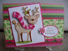 cute reindeer!! - great colors - bjl