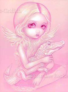 Albino Alligator Angel