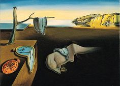 """Dali paintings, the clocks, when he strikes  it's just wonderful, I knew about him at 26 years old because I read a book called """"The art of fart"""", I never laughed so much, as the Genius he is and was, becoming a lunatic is a fact, I prefer to become conscious of what life is about."""