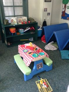 Camping taking over the dramatic play centre