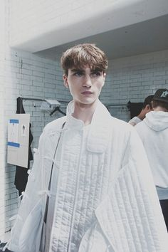 Tears in the front row? It happened at the London designer Craig Green's first solo show: http://www.dazeddigital.com/fashion/article/20340/1/why-everyone-was-crying-at-the-craig-green-show