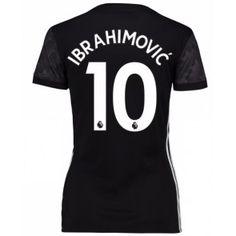 Manchester United Zlatan Ibrahimovic 9 Dámské Venkovní Dres 17-18 Krátký Rukáv