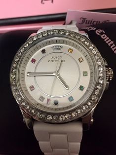 Juicy Couture Watch, Watches, Accessories, Fashion, Moda, Wristwatches, Fashion Styles, Clocks, Fashion Illustrations
