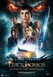 """Read """"Percy Jackson and the Olympians, Book Two: The Sea of Monsters"""" by Rick Riordan available from Rakuten Kobo. After a summer spent trying to prevent a catastrophic war among the Greek gods, Percy Jackson finds his seventh-grade sc. Jason Grace, Thalia Grace, Percy Jackson Film, Sea Of Monsters, Monster Book Of Monsters, Greek Monsters, Leo Valdez, Annabeth Chase, Heros Film"""