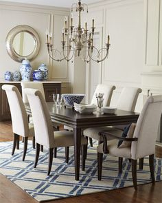 Lenore+Dining+Room+Furniture+at+Horchow.  Thoughts on the dining table?