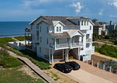 Brand new this summer! Oceanfront in Duck...great pool area and decks. There is even an extra deck above the top floor...best view in Duck, Outer Banks!