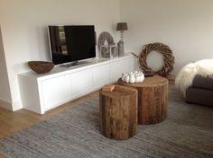 blij met ons nieuwe tv meubel