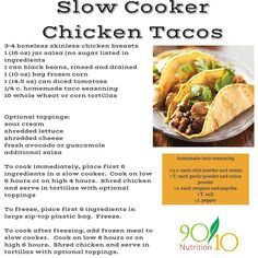 Tacos, Chicken taco soup and Taco soup on Pinterest