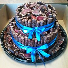 Now that's a South African cake! South African Dishes, South African Recipes, African Cake, Meat Cake, Biltong, South African Weddings, Cakes For Men, Beautiful Cakes, Cupcake Cakes