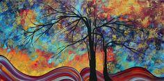 Landscape tree art