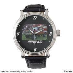 1977 K10 Stepside Wrist Watches