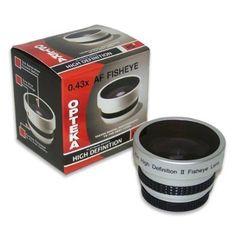 Opteka 0.43x HD?? Full Fisheye Lens for 37mm Digital Camcorders
