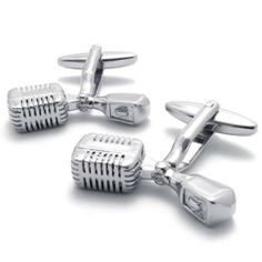 "KONOV 2pcs Classic Personalized Unique Music Mike Shirts Mens Cufflinks, Color Silver, 1 Pair KONOV Jewelry. $8.99. Material: Brass, Rhodium plated ( 100% Nickel free ). Color: Silver. Brand: KONOV Jewelry. Height: 29mm(1.1""); Width: 7mm(0.3""); Length: 26""mm(1""). Save 80% Off!"