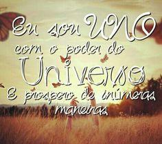 Me declaro em paz com todos os seres do Universo!