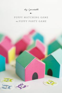 little monster: Puppy Matching Game / Puppy Party Game