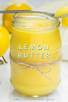 cookie butter pie Lemon Butter combines both sweet and sour flavours in the one, it is easy to make and tastes great! Lemon Butter goes great on toast. Flavored Butter, Homemade Butter, Butter Pie, Lemon Butter, Butter Recipe, Canned Butter, Cookie Butter, Jelly Recipes, Lemon Recipes