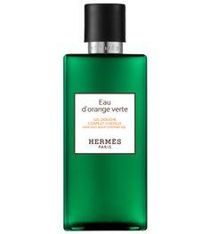 Le gel douche Eau d'Orange Verte d'Hermès