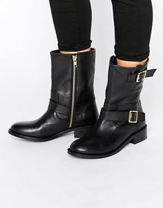 Carvela  Leather Biker Boots