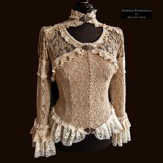 Blouse Baroque, Somnia Romantica by M. Turin by SomniaRomantica.deviantart.com on @deviantART