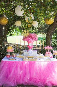 "Photo 2 of 22: Princess / Birthday ""Royal Pink & Gold Birthday Bash"" 