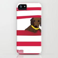 A+little+dog,+Florita+iPhone+&+iPod+Case+by+Gisela+Eblagon+-+$35.00