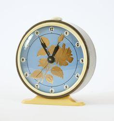 Vintage alarm clock Vitjaz from Russia Soviet Union