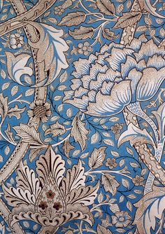 thevisualremix: William Morris print.