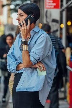 Daily Fashion, Urban Fashion, Look Fashion, Fashion Mode, 80s Fashion, Mode Outfits, Fashion Outfits, Womens Fashion, Camisa Oversized
