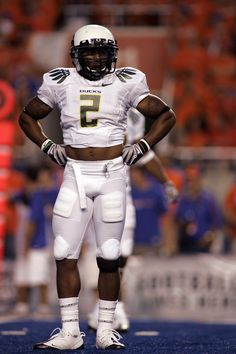 Former University of Oregon Ducks Safety T.J. Ward. #GoDucks (Photo by Eric Evans)