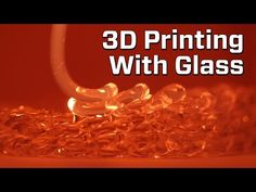 "MIT Made A 3D Printer That Uses Glass This specialized 3D printer, developed by a collaboration between multiple MIT departments, ""prints"" with optically clear glass."