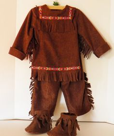 Children's Indian Costume Reserved for Jessica by SewlFulThings, $55.00