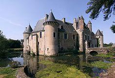Château de Boucard. Cher. Centre