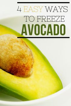 Wondering how to freeze avocados? It's true that you can seriously do it! Freezing avocados is for sure one of the best things you can do for your budget if you're an avocado lover like we are! Freezer Cooking, Freezer Meals, Easy Meals, Can You Freeze Avocado, Easy Healthy Recipes, Real Food Recipes, How To Make Taco, Guacamole Recipe, Homemade Taco Seasoning