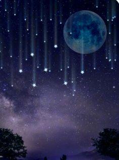 Night Sky Wallpaper, Scenery Wallpaper, Of Wallpaper, Wallpaper Backgrounds, Moon And Stars Wallpaper, Cool Backgrounds, Night Sky Stars, Night Skies, Night Night
