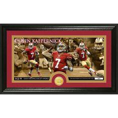 Colin Kaepernick Bronze Coin Panoramic Photo Mint