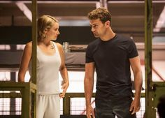 New #Allegiant still #FourTris, aw that look of love!
