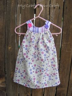 1785a1f261 How To Make A SUPER EASY Pillowcase Dress! - YouTube