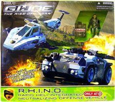 G.I. Joe: The Rise of Cobra R.H.I.N.O. Vehicle by Hasbro, http://www.amazon.com/dp/B001QUVO5I/ref=cm_sw_r_pi_dp_Nkafsb1MSJ43T