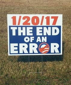 End of an Error Sign