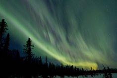 Aurora Borealis, Northern Lights, Alaska.