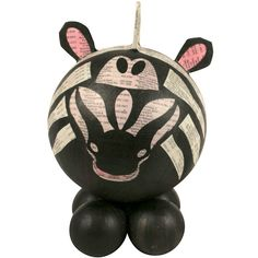 Paper Mache Zebras from the Philippines | Fair Trade | Handmade | Papier Mache | Paper Capers | One World Projects |