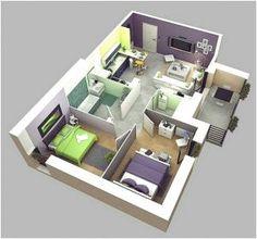 Architect Design House Plans 25 more 3 bedroom 3d floor plans | 3d, bedrooms and 3d interior design