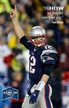 #BRADY and the #Patriots have a history of, among other things, #winning wherever they play