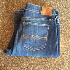 Lucky Brand Sweet 'N Low Bootcut - NWOT Lightly distressed dark wash & boot cut. Size 6 (28). New without tags. Never worn only tried on Lucky Brand Jeans Boot Cut