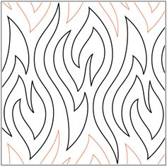 """""""Kindling"""" a pantograph designed by Patricia Ritter and Leisha Farnsworth.  Available at urbanelementz.com"""