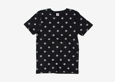 Ice Cream Bones & Cones AOP T Shirt - Black | The Chimp Store