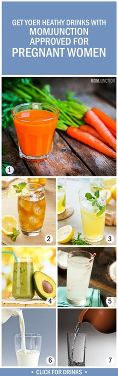 7 Absolutely Healthy Drinks For Pregnant Women
